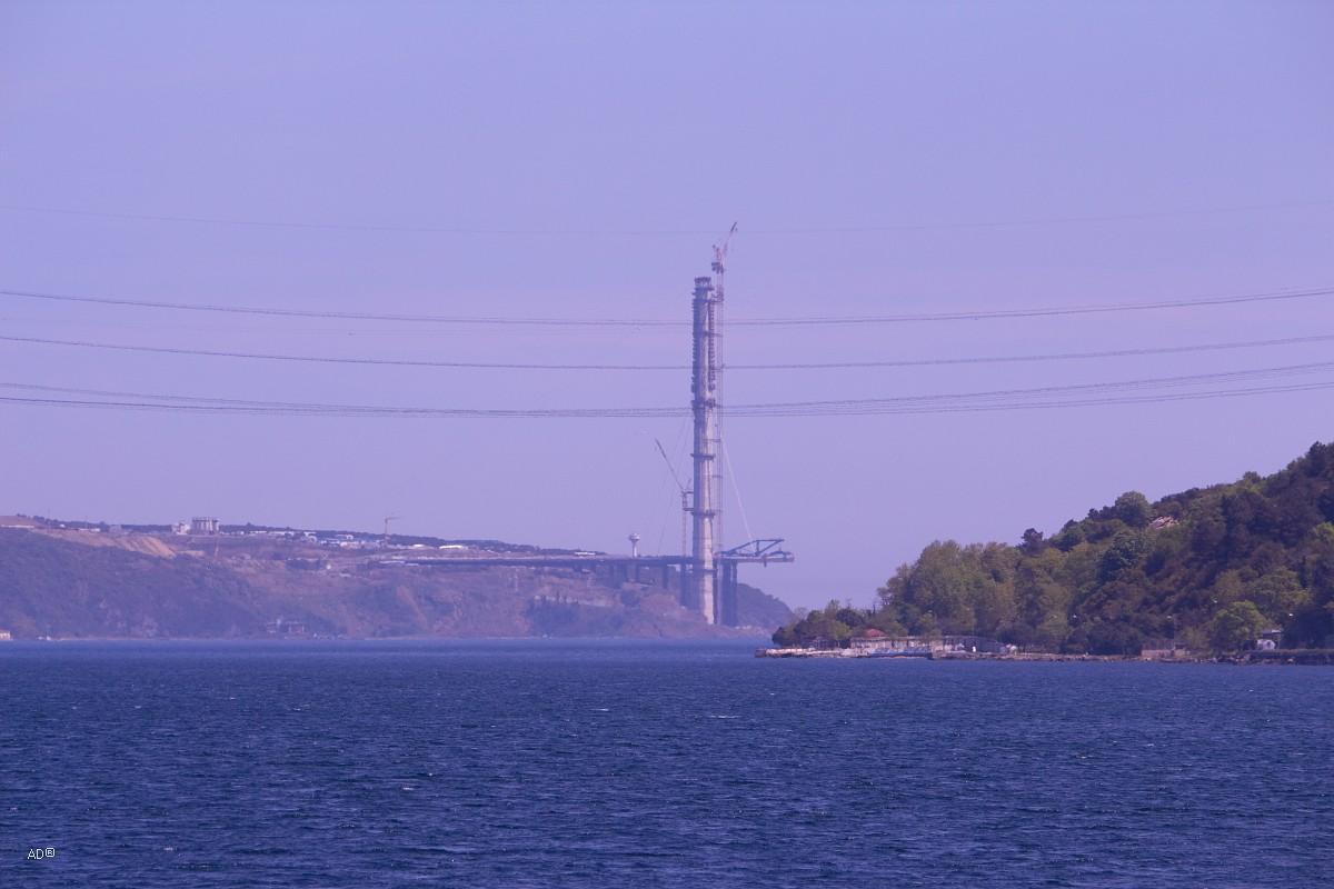 Строительство моста султана Селима Грозного