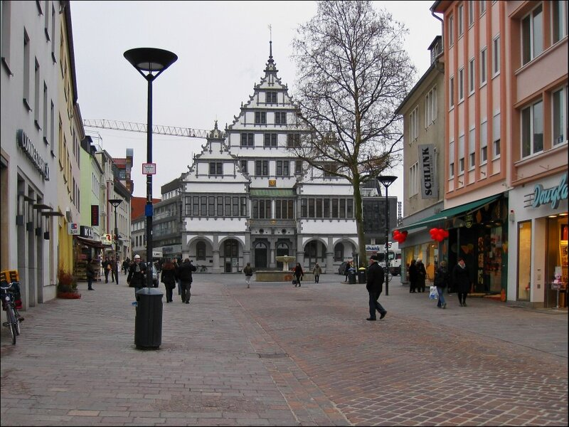 Ратуша (Rathaus) Падерборна