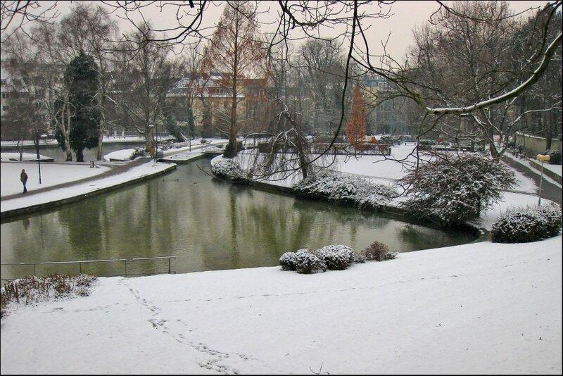 Парк у истоков Падера, Падерборн