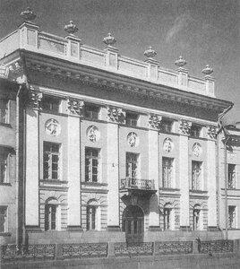 Петербург. Особняк князя Абамелек-Лазарева. 1913-1914.: babs71: http://babs71.livejournal.com/324444.html