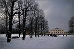 Зима в Павловске