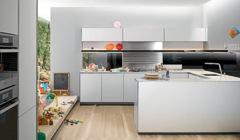 Интерьер кухни: мебель, варианты планировки, фотографии