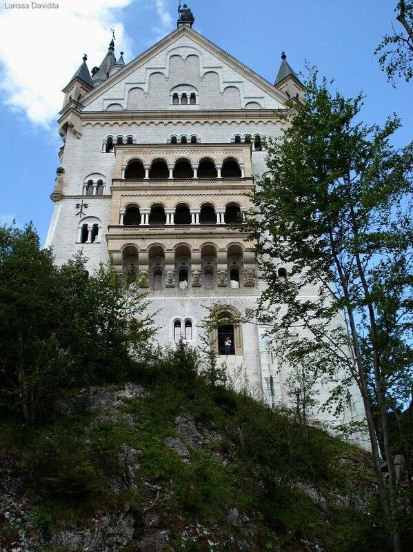 Замок neuschwanstein бавария германия
