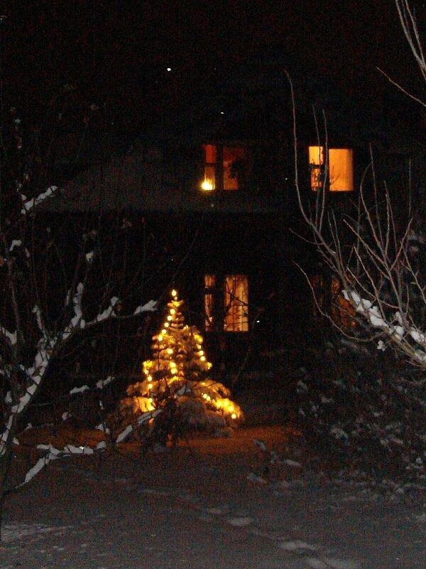 Зима.Рождество.с.Остров.
