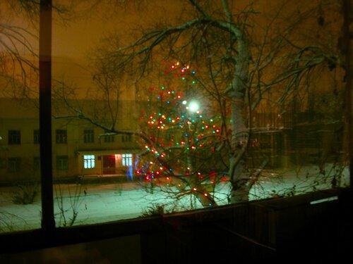Астрахань, Новый Год-2009,праздничная картинка