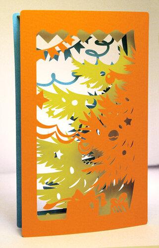 Пожеланиями, многослойные открытки книга