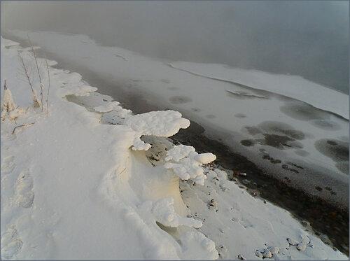 Нависающий лёд