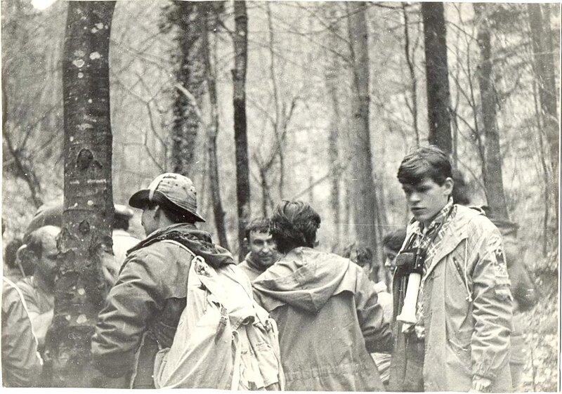 В первом кавказском походе...1986 г.