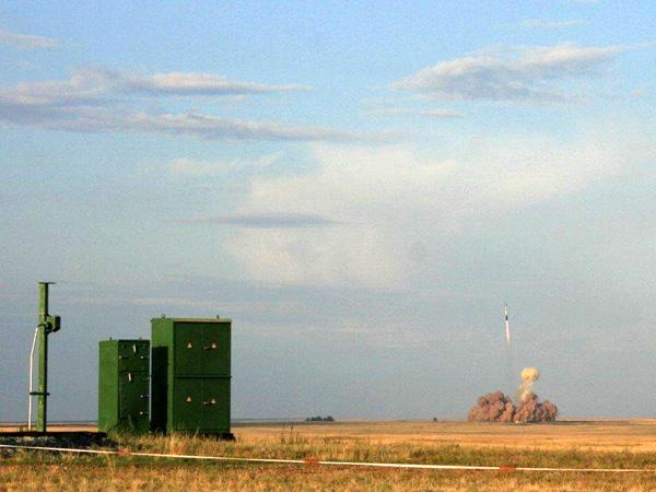 Оренбургская область, п. Ясный, 12.07.2006. Запуск ракетой «Днепр» аппарата GENESIS-1. © novotroitsk.org