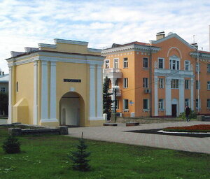 Дом Манякина рядом с Тарскими воротами