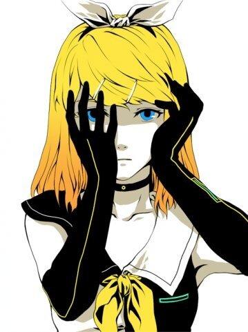 """Обычно она носит бело-чёрное платье,длинные чёрные перчатка,чёрный  """"ошейник """",белый бант на чёрном ободке."""