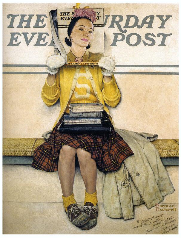 рисунки Norman Rockwell