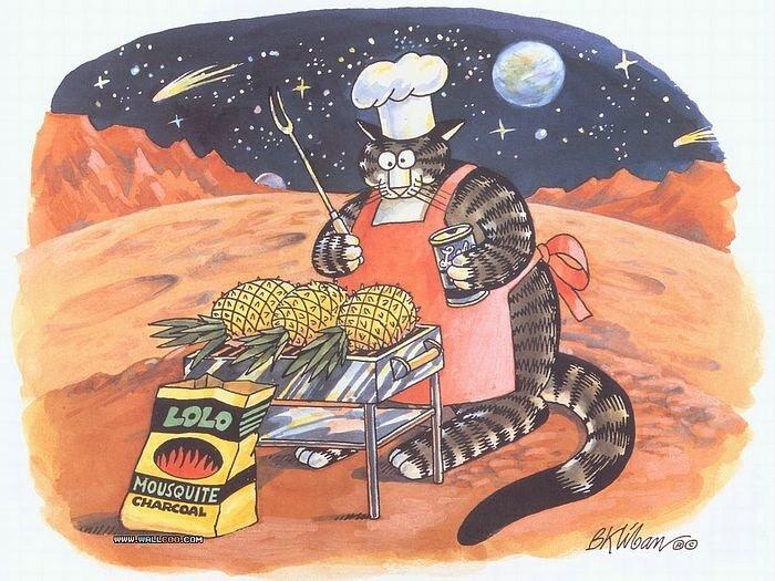 Kliban B.Cat Dreams