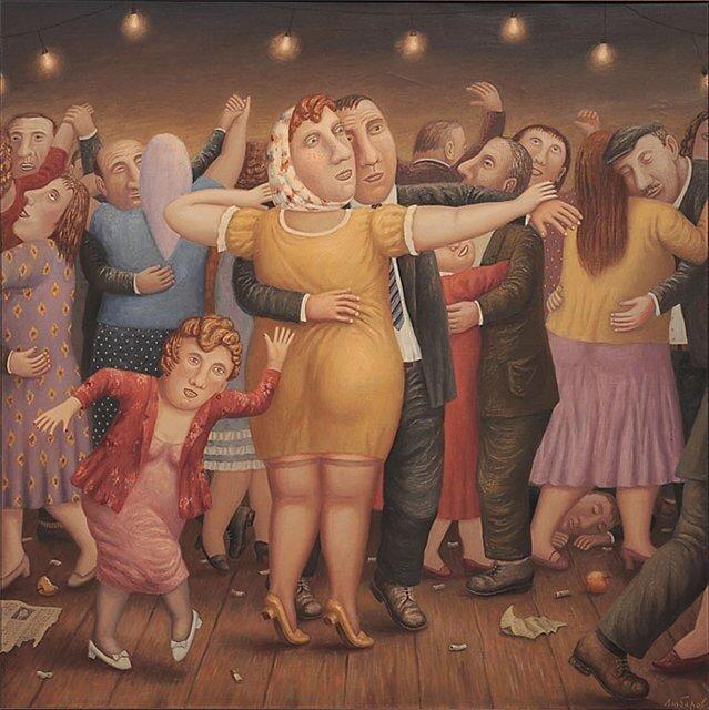 Света любит танцевать.