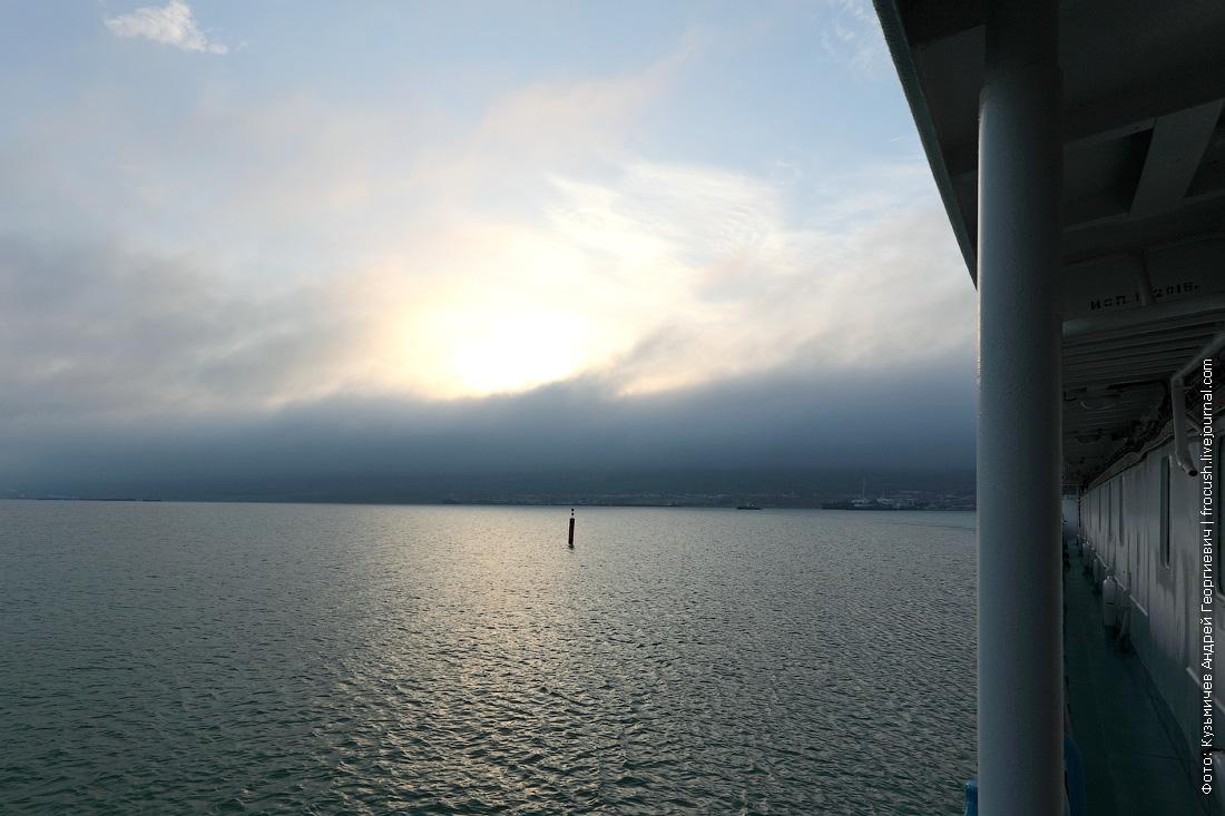 полуостров Мангышлак в утреннем тумане