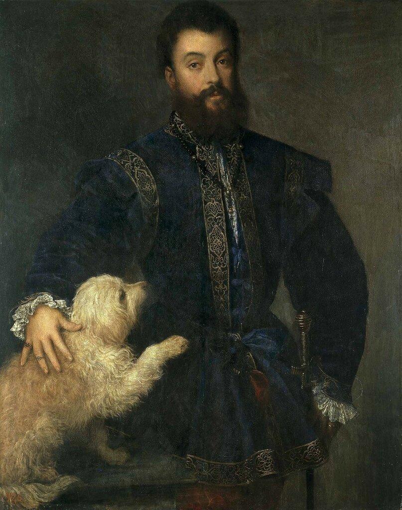 Портрет Федериго II Гонзага