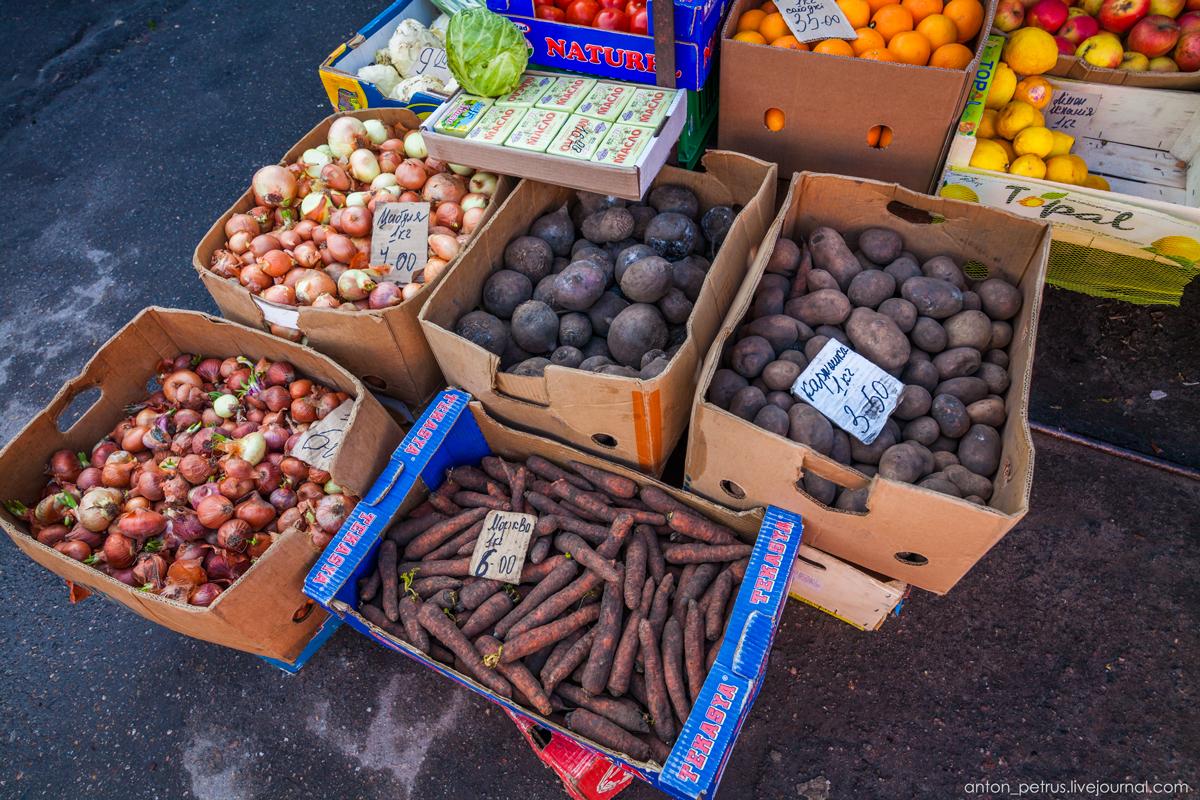 Щедрый украинский рынок