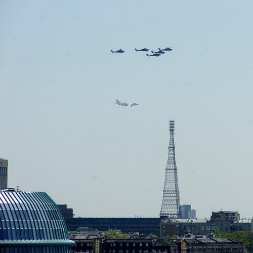 Московское небо 9 мая