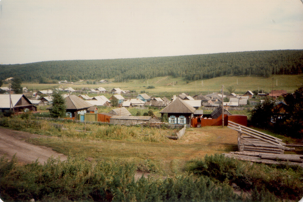 27. Сибирская деревня