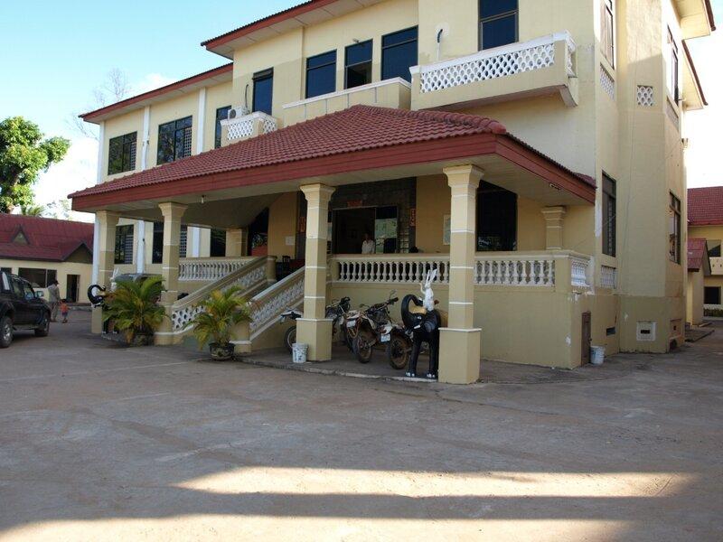 Так выглядела гостиница, в которой мы проснулись на второй день путешествия