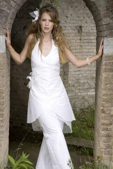 Брючный костюм для невесты
