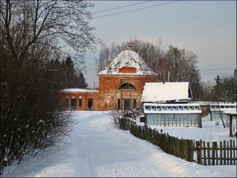 Церковь в селе Морозово