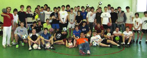 Итоги турнира Winter International Football Freestyle Contest