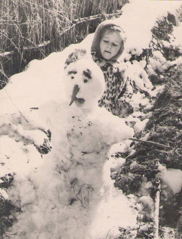 Ташкентский снег