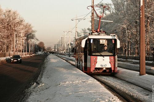 ЛМ-2008 №1417. Улица Салова