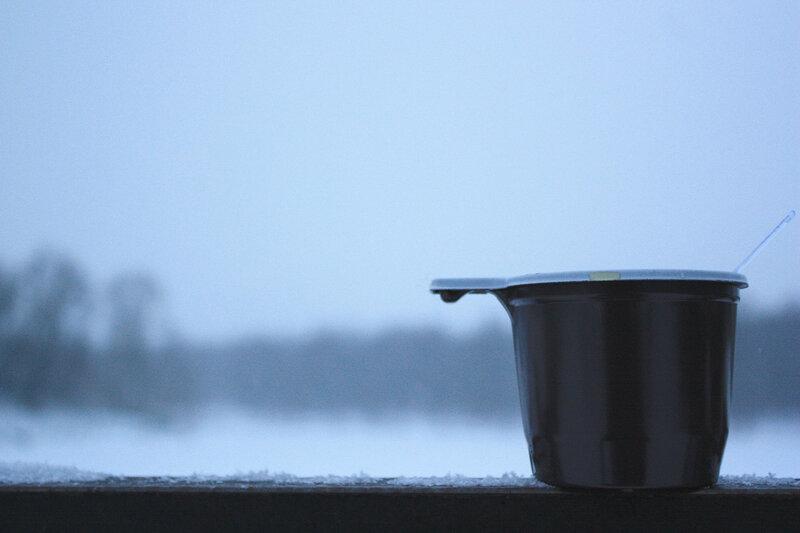 Чай под снегопад