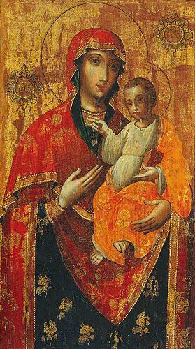 Чернігівська Троїцько-Іллінська ікона Божої Матері