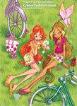 Winx club стишков и аватарок №3 и игра для девочек!