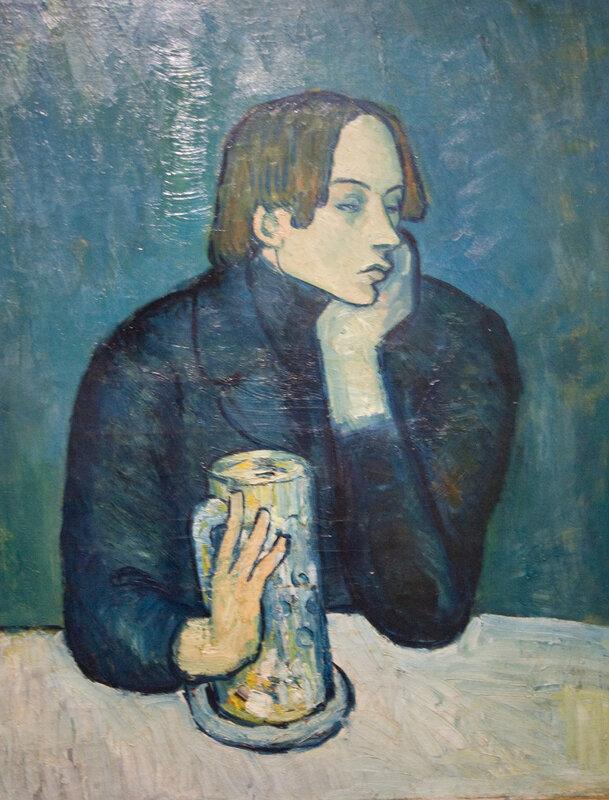 Портрет поэта Сабартеса