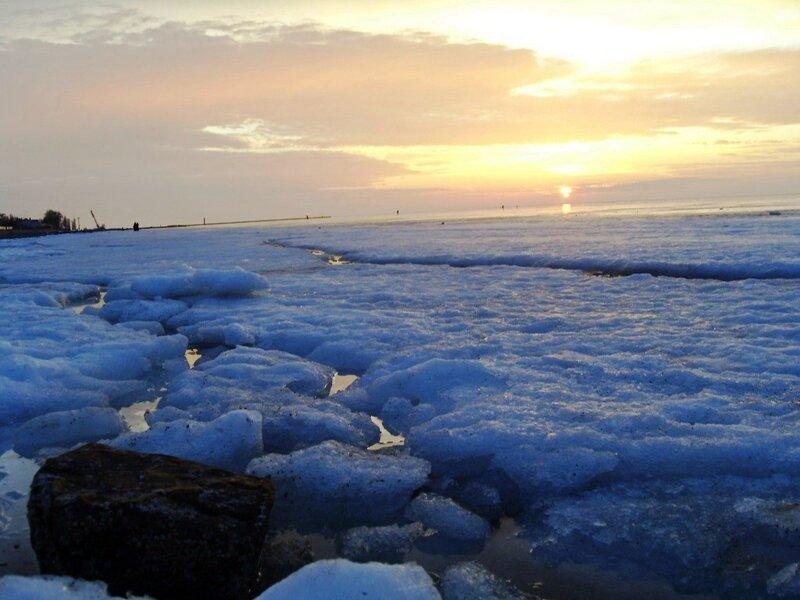 Лёд Ахтарского залива (14)
