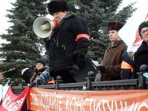 Сгрудились малые - митинг объединённой оппозиции в Омске