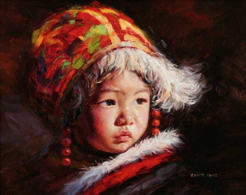 Китайский художник Barry Yang