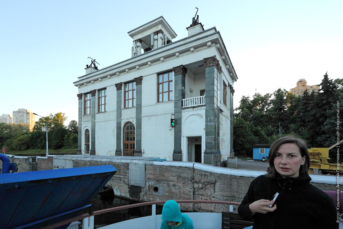 шлюз №7 канала имени Москвы селфи палка фото