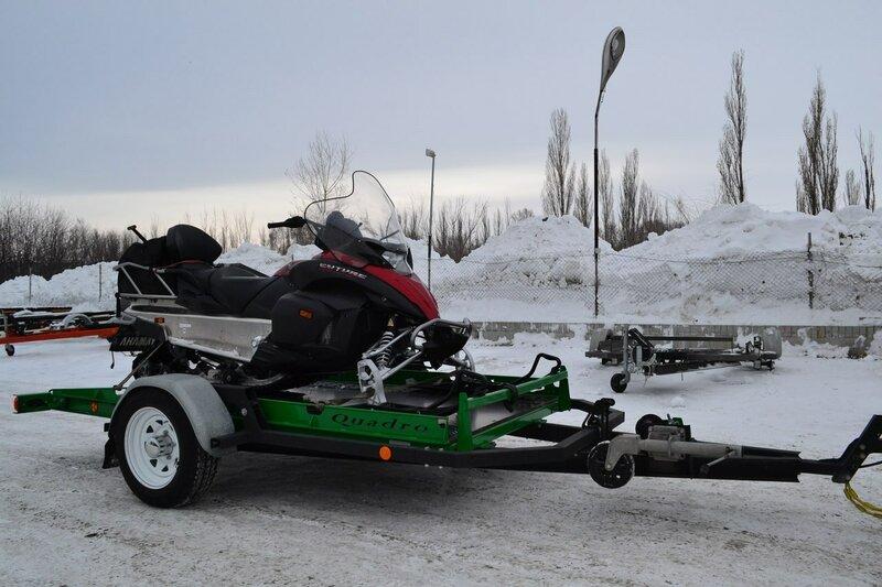 лодочный прицеп под снегоход
