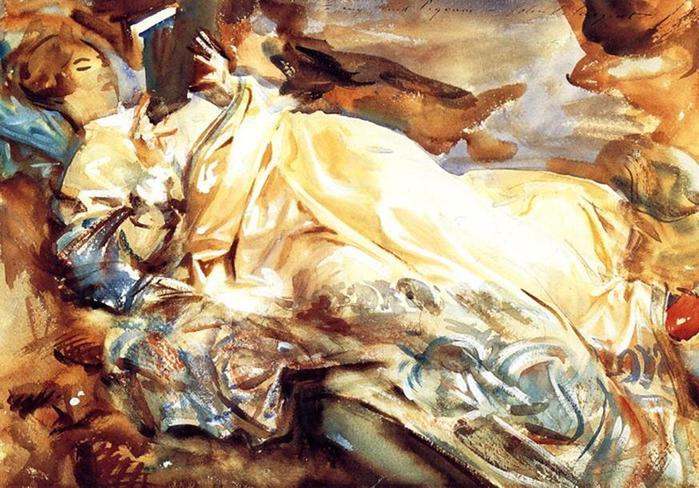 Джон Сингер Сарджент. Великолепная акварель и живопись