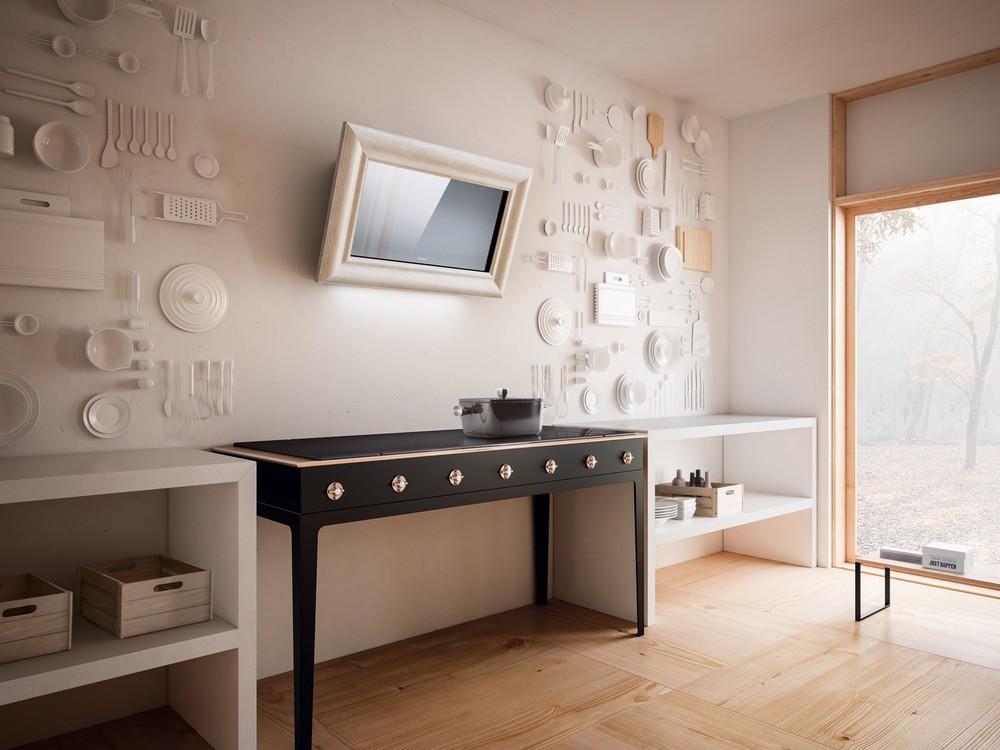Вытяжки картины - вытяжка в форме картины на стене - стильные вытяжки в Краснодаре - интернет-магазин