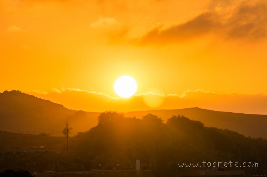 Закат на Крите  | Sunset in Crete