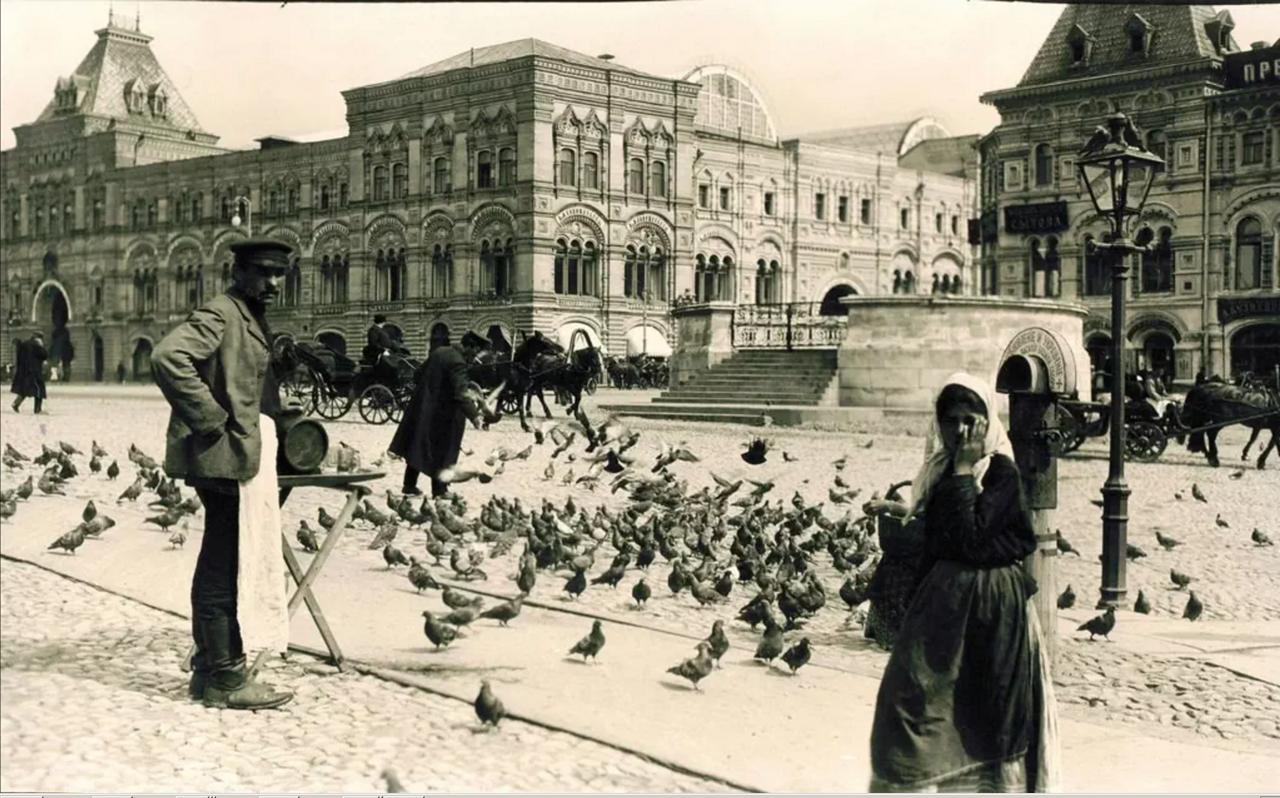 734. Красная площадь. 1909