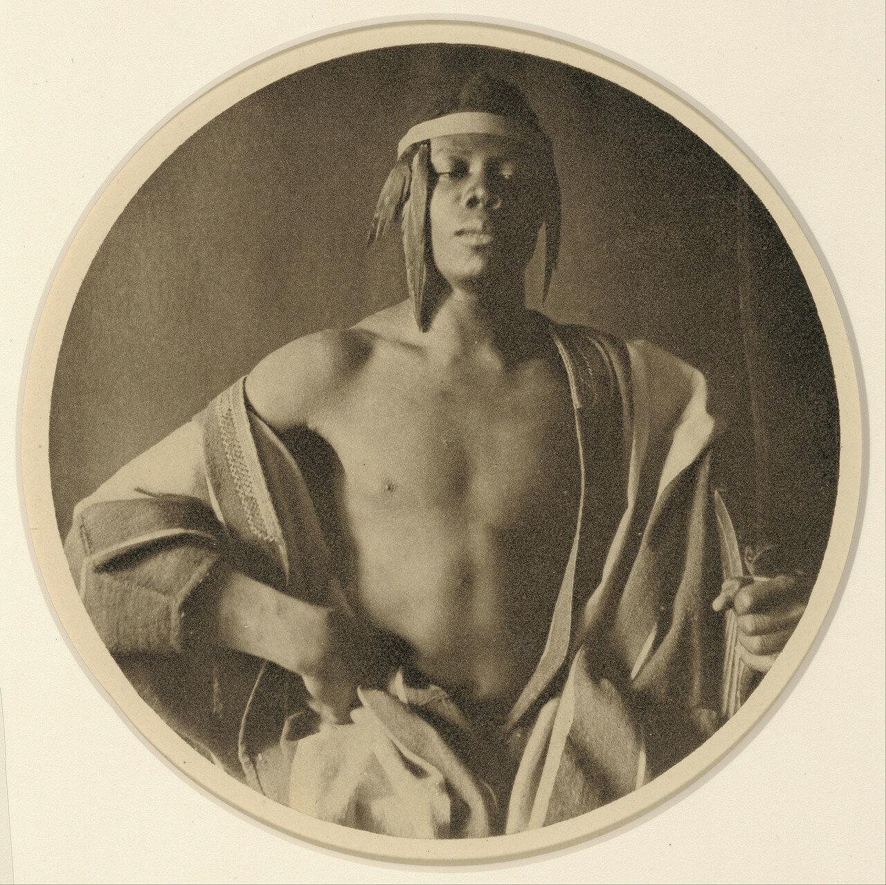 1897. Эфиопский вождь