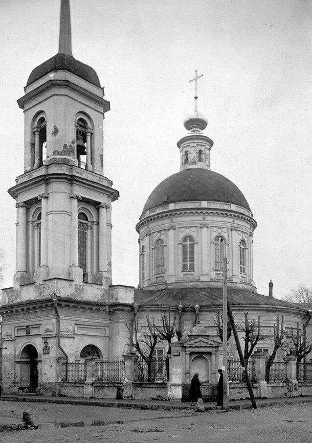 1920-е. Церковь Георгия на Всполье