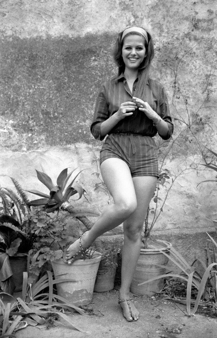 Files Pictures of Italian Actress Claudia Cardinale