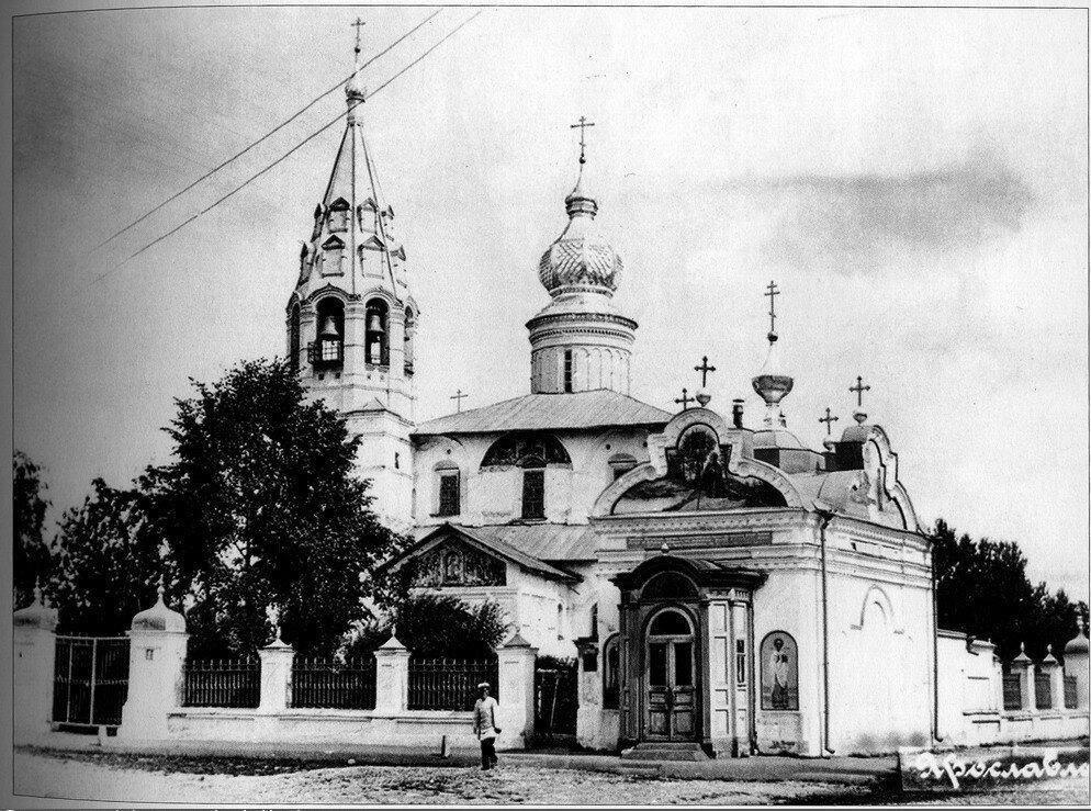 Церковь Николы Надеина и часовня Толгской иконы Божией Матери