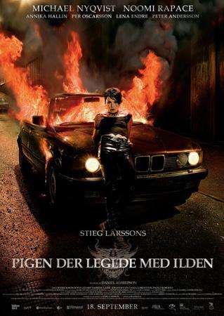 Девушка, которая играла с огнем / Flickan Som Lekte Med Elden (2009/HDRip/1.460GB)