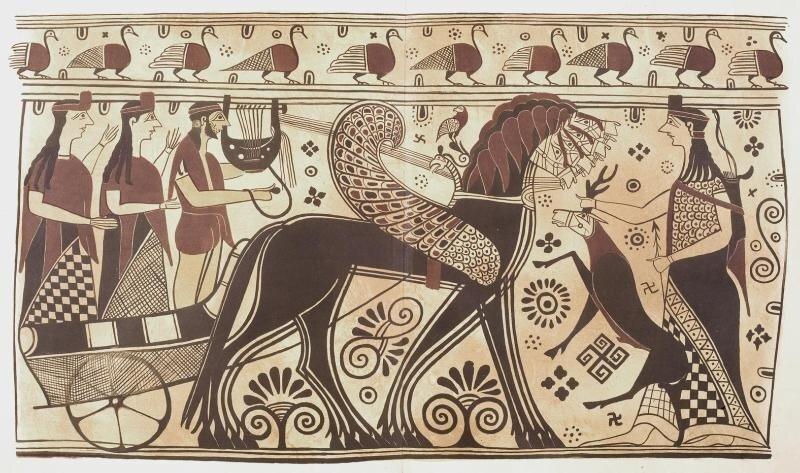 Кикладская ваза 7 в. до н.э.