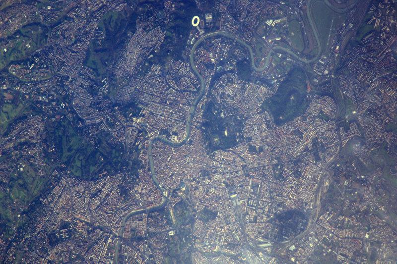 Юрта фото на космическом снимке