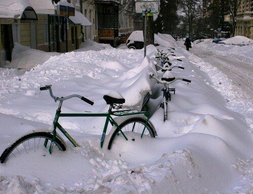 Одесса в снегу